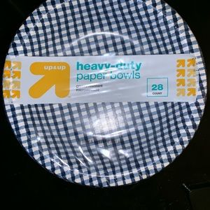 Heavy Duty Paper Bowls - 28ct. - Up&Up